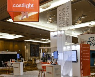 Castlight Booth Photo