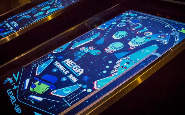 Tenable Level-Up Pinball Machine - Lightspeed Marketing Communications