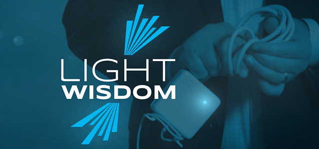 Light Wisdom Macbook Cord Wrap - Lightspeed Marketing Communications
