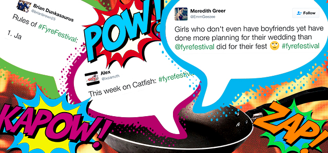 Out of the frying pan and in to the Fyre Festival - Lightspeed Marketing Communications