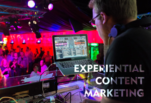 Experiential Content Marketing - Events - DJ
