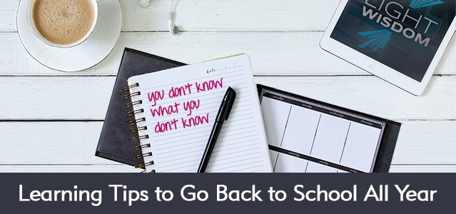 Call Yourself a Modern Marketer? Use These Learning Tips to Go Back to School All Year - Lightspeed Marketing Communications