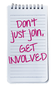 Don't just join, GET INVOLVED. - Lightspeed Marketing Communications