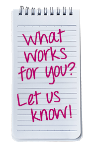 What works for you? Let us know! - Lightspeed Marketing Communications